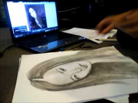 SNSD Yoona Speed Drawing
