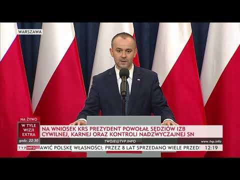 Na wniosek KRS prezydent Andrzej Duda powołał sędziów trzech izb Sądu Najwyższego