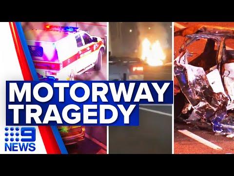 Tragic Queensland crash claims four lives   9 News Australia