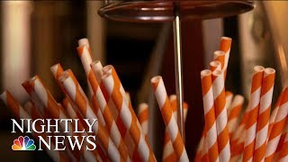 Paper Or Plastic? Inside The Heated Debate Over Drinking Straws   NBC Nightly News