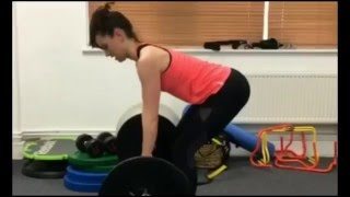 Daisy Ridley gym workout/training for Star Wars: The Last Jedi