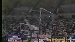 Svetlana Boginskaya - 1990 European Championships AA - Uneven Bars