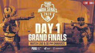 [Hindi] PMIS Grand Finals - Day 1 | PUBG MOBILE India Series 2020 #PMIS2020 #PUBGMOBILE