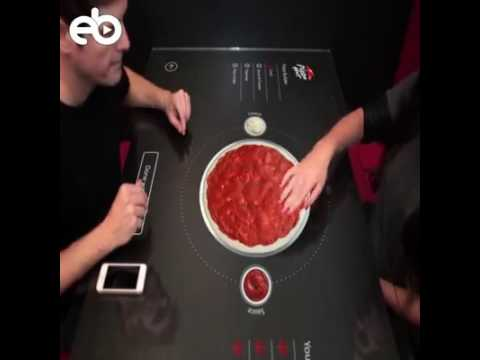 #‎ALSHOPnews‬ Would you like to order pizza on this smart table concept?