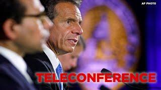 NY Gov. Cuomo briefing after DOJ deems NYC 'anarchist jurisdiction'