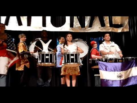 International Night 2011 - Marching Band; Drum Line