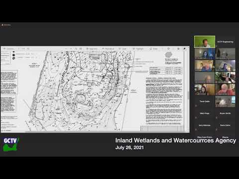 Inland Wetlands and Watercourses Agency, July 26, 2021