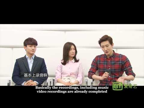 [Eng Subbed] 140306 iQiyi Interview (Zhoumi, EXO Chen, Zhang Liyin)