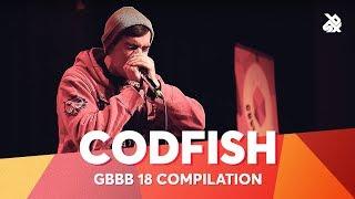 CODFISH   Grand Beatbox Battle Champion 2018 Compilation