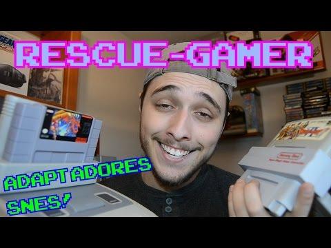 Rescue-Gamer: Adaptadores multiregión SNES