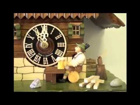 Hones Black Forest House Cuckoo Clock #1268