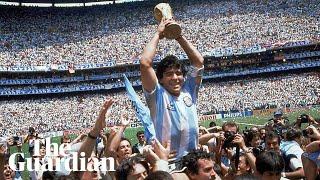 Remembering Diego Maradona: football legend dies aged 60