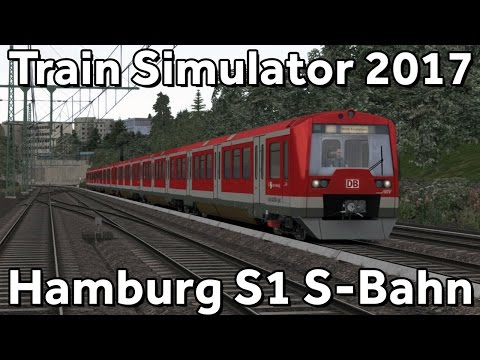 Train Simulator 2017: Hamburg S1 S-Bahn Route with DB BR474