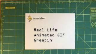 Real Life Animated GIF Greeting Cards