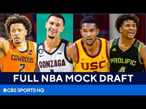 FULL 2021 NBA Mock Draft: Cade Cunningham, Jalen Suggs, & MORE [ALL 30 1st Round Picks]