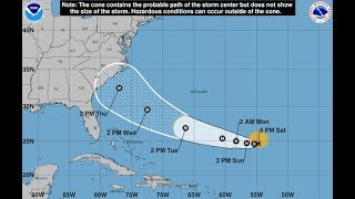 LIVE - Hurricane Florence Track and Updates