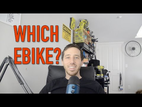 How to choose your first ELECTRIC bicycle!