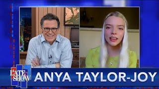 "Anya Taylor-Joy Got To Keep Her Wardrobe From ""The Queen's Gambit."" Sort Of."
