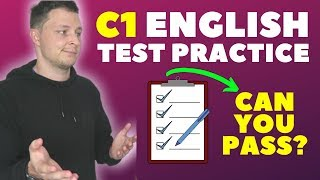 I took a C1 English Test - Can You Pass?