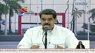 Maduro confirma contactos entre Washington y el gobierno venezolano