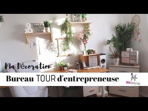Bureau Tour d'Entrepreneuse Sur Internet
