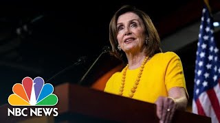 After Drone Incident, Nancy Pelosi Says U.S. Can't Be 'Reckless' On Iran | NBC News