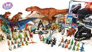 MATTEL JURASSIC WORLD FALLEN KINGDOM DINOSAUR TOYS & ACTION FIGURES COLLECTION