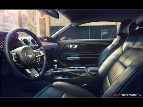 Car Design: 2018 Ford Mustang (Interior)