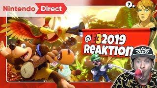 NINTENDO DIRECT @E3 2019 vom 11.06.2019 🎇 Domtendos Live Reaktion