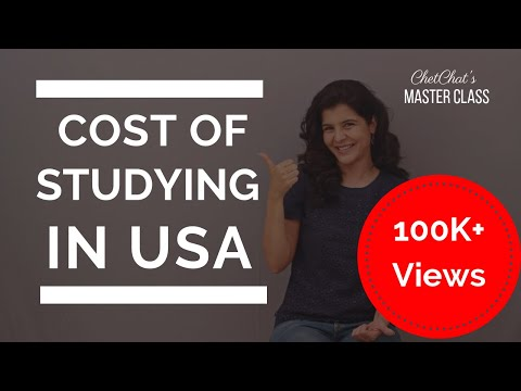 Study In USA: How Much Does it Cost to Study in the USA?