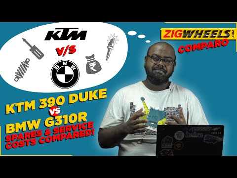 BMW G 310 R vs KTM 390 Duke - Service & Spare Parts Comparo