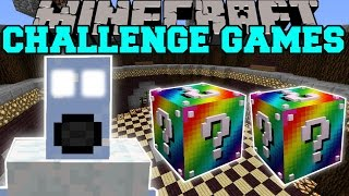 Minecraft: ICE BOSS CHALLENGE GAMES - Lucky Block Mod - Modded Mini-Game