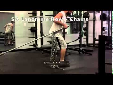 Exercise of The Week - SA Landmine Row