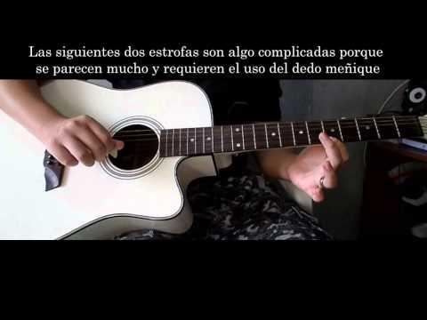 como tocar blue bird (naruto shippuden) en guitarra