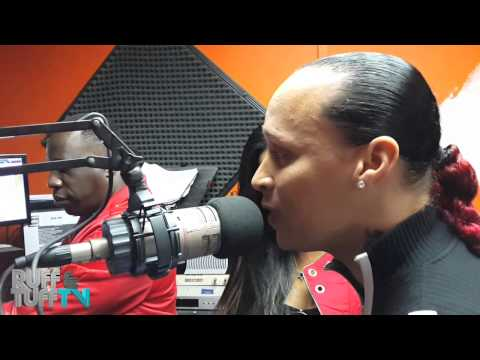 Red Rat & Pascalle freestyle en EXA FM  RUFF & TUFF TV