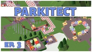 Parkitect - Ep. 3 - The Food Court! - Let's Play - [Parkitect Gameplay]