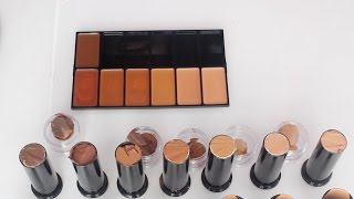DIY: DEPOTTING MY BLACK OPAL STICK FOUNDATIONS - ChimereNicole