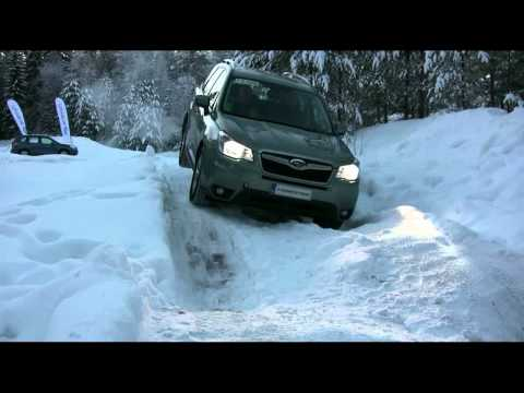 2013 Subaru Forester Winter Off Road Test (X-MODE)