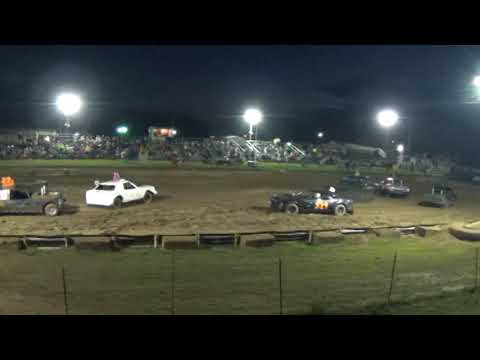 Farwell,Michigan Memorial Weekend 2018 Figure eight (RWD cars) Heat 3