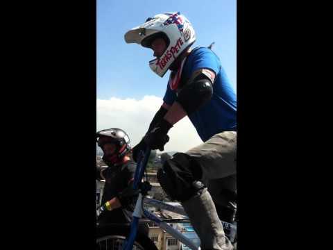 Chad Kagy double back flip MegaRamp Rio