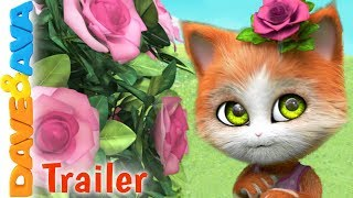 🌹Ring Around The Rosie - Trailer | Baby Songs and Nursery Rhymes by Dave and Ava 🌹
