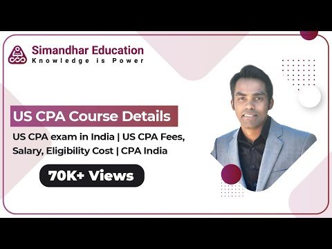 CPA Exam in India | CPA Course Fees Details | AICPA |CPA Eligibility in India 2021| Simandhar