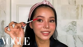 Bella Poarch's Signature TikTok Makeup Routine   Beauty Secrets   Vogue