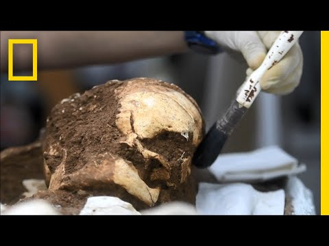Ancient Remains Offer Clues About Early Americans   National Geographic