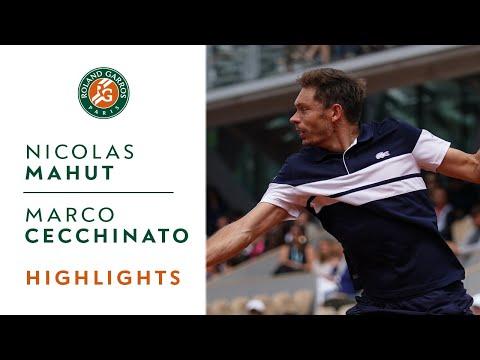 Nicolas Mahut vs Marco Cecchinato - Round 1 Highlights | Roland-Garros 2019