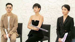 Bộ 3 Vlogger Giang Ơi, Vũ Dino, Cô Em Trendy tranh giành thí sinh Hoa hậu Hoàn vũ Việt Nam