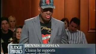 Chicago Bulls Star, Dennis Rodman, sues his friend for 4K on Judge Pirro