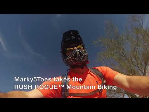 Marky5Toes Takes the RUSH ROGUE™ Mountain Biking