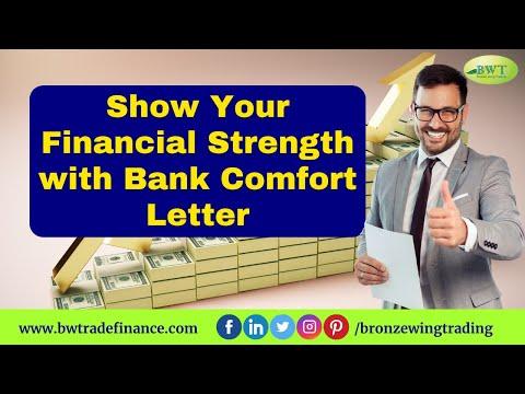 Bank Comfort Letter – BCL MT799 – Letter of Comfort