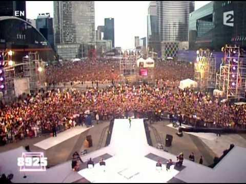 Tina Arena Aimer jusqu'a l'impossible live at 25e edition de la fete de la musique 21 06 06